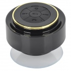 FS-002 Waterproof 3W Bluetooth V3.0 Speaker w/ Microphone / USB / 3.5mm - Yellow + Black