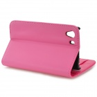 Protective PU Leather Flip Open Case w/ Stylus Pen / Stand for Sony Xperia Z1 / Xperia i1 L39h