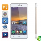 "JIAKE X3s Android 4.2.2 Octa-Core WCDMA Bar Phone w/ 5.0"" Screen, GPS and Wi-Fi - Golden + White"