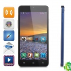 "JIAKE X3s Android 4.2.2 Octa-core WCDMA Bar Phone w/ 5.0"" Screen, Wi-Fi and GPS - Blue + Black"