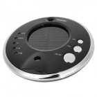 UFO-988 0.6W Solar Powered Aerosol Spray Car Air Purifier - Black + Silver (12~24V)
