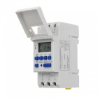 "THC15A Mini Multifunction 0.85"" LCD Digital Time Switch - White (12V)"