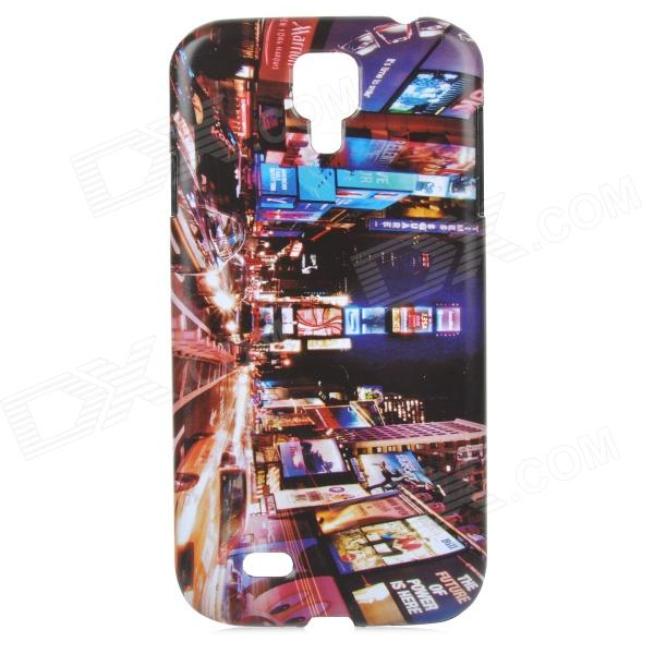 London Night View Pattern ABS Back Case for Samsung Galaxy S4 i9500 - Multicolored protective cute spots pattern back case for samsung galaxy s4 i9500 multicolored