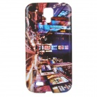 London Night View Pattern ABS Back Case for Samsung Galaxy S4 i9500 - Multicolored