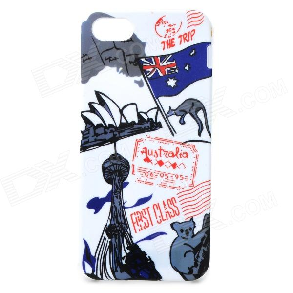 graffiti-flag-of-australia-sydney-opera-house-pattern-protective-case-for-iphone-5-5s-white
