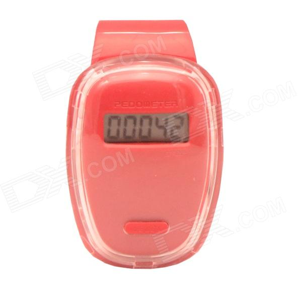 "Mikasso S2 0.8"" LCD Pedometer - Red (1 x AG13) от DX.com INT"