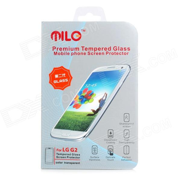 Protective Clear AGC Tempered Glass Screen Protector for LG G2 - Transparent angibabe clear protective tempered glass screen protector for ipod touch 5 transparent