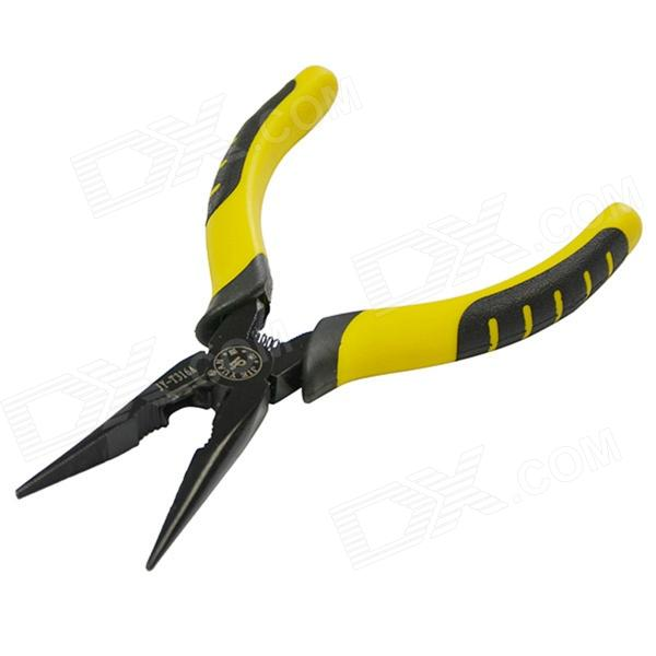 JY-T316A Professional Needle-nose Pliers Tool - Yellow + Black