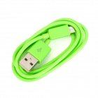 103B Micro USB to USB 2.0 Charging / Data Cable for Samsung / HTC / LG + More - Green (100cm)