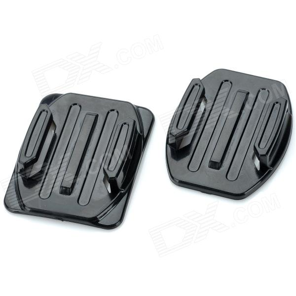 QD-T07/T08 Flat + Curved Surface 3M VHB Adhesive Sticky Mount Set for Gopro Hero 4/3+/3/2/SJ4000