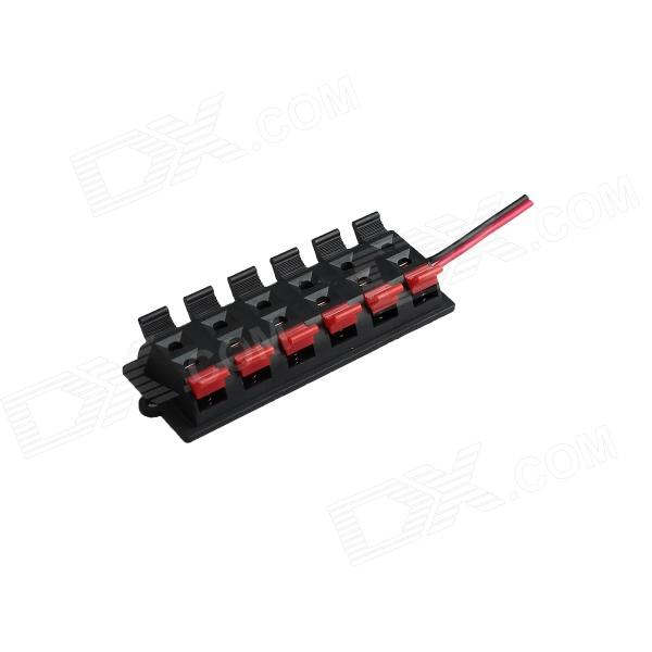 SG2 6-Port AC / DC LED Power Switch - Black + Red power supply for pwr 7200 ac 34 0687 01 7206vxr 7204vxr original 95%new well tested working one year warranty