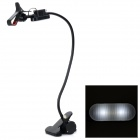360 Degree Rotatable Stand w/ USB Rechargeable LED Lamp for IPHONE + More - Black
