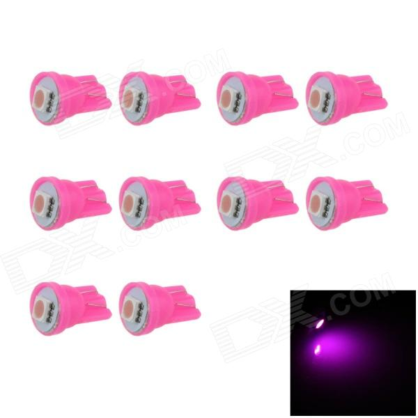 T10-5050-1-PX10 T10 0.2W 20lm SMD 5050 LED Purple Car Instrument / Clearance Lights (12V / 10 PCS)