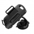 "Car 360 Degree Rotational Plastic Mount Holder for 7""~10"" Tablet - Black"