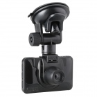 "LSON K2000-2 2.4"" LCD 5.0MP CMOS 720P Wide Angle Car DVR w/ HDMI / TV OUT - Black"