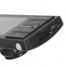"SC01 2.7 ""TFT 3.0MP CMOS 1080P Dual-Lens Bil DVR videokamera w / 4-LED Light / HDMI / GPS Port - Svart"