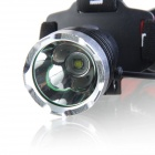 LED 680lm 3-Mode Faro de enfoque blanco - Negro + Rojo (1 x 18650)