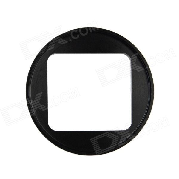 HighPro Precision CNC Aluminum Alloy 52mm Lens Converter Ring for GoPro Hero3 Housing - Black brand new 310 7522 725 10092 replacement projector lamp with housing for dell 1200mp 1201mp