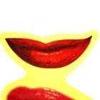Tricky Toy People Misunderstand Lip Print - Red (4 PCS)