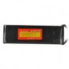 7.4V 3500mAh 30C Replacement Li-Poly Battery for RC Helicopter / Car / Boat + More - Black + Red