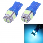 T10 5W 240lm 10-SMD 5630 LED Ice Blue Light Car Clearance / Tail Lamps (DC 12V / 2 PCS)