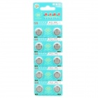 AG10 389A 1.55V Cell Button Batteries 10-Pack