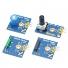RobotBase RB-13K022 Electronic Start Building Blocks Kit (Works with Official Arduino Boards)