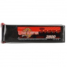18.5V 2800mAh 30C Replacement Li-Poly Battery for RC Helicopter / Car / Boat + More - Black + Red