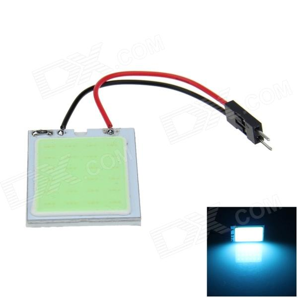 T10 / BA9S / Festoon 31mm~42mm 2W 190lm 24-COB LED Ice Blue Car Interior Dome Light - (12V)