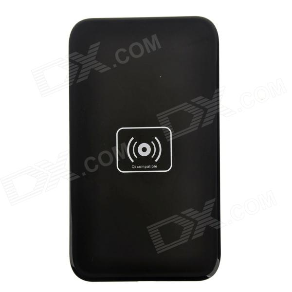 QI X5 Mobile Wireless Charger - Black universal qi wireless charger for cellphone black