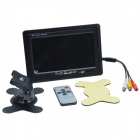 RobotBase RB0-05L010 7'' TFT HD LCD Display for Raspberry Pi / Car Monitor - Black