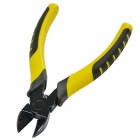 JY-N206A Professional Quality Stainless Steel Diagonal Pliers Tool - Yellow + Black