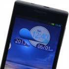 "A4500(Q45/A45) MTK6572 Dual-core Android 4.2.2 WCDMA Bar Phone w/ 4.5"" IPS, 4GB ROM, Wi-Fi, GPS"