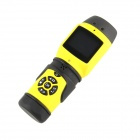 Cameray CM-SP80A 1080P HD 5.0 MP CMOS Waterproof Sport Camcorder w/ LED - Black + Yellow