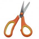 F-165 Stainless Steel Scissors / High Rigidity Shears for Office - Orange + Yellow