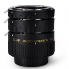 Aputure AC-MN Macro Extension Tube Set for Nikon AI Lenses - Black