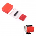 Waterproof Floaty Backdoor for GoPro Hero 4 / 3+ - Red