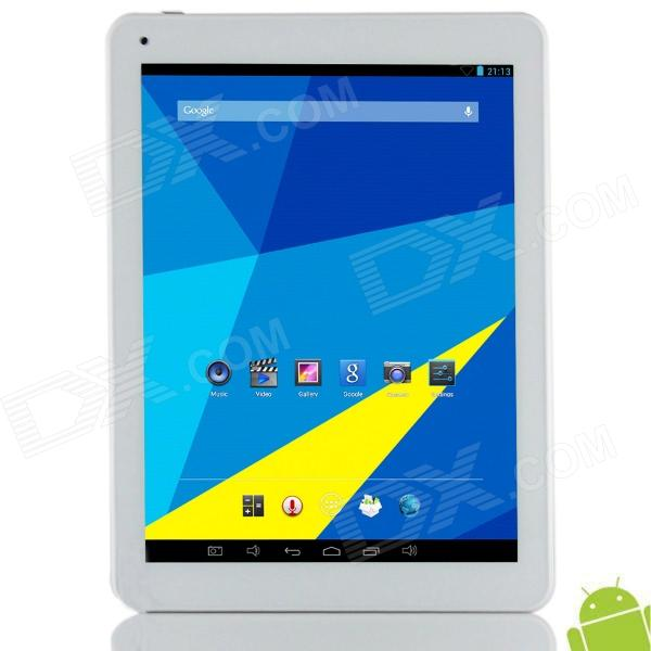 "Vido M9 9.7 ""Retina Android 4.2.2 Quad-Core Tablet PC w / 2 Go de RAM, 16 Go ROM, double caméra, TF - Blanc"