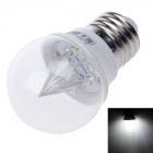 D400002 JLLT E27 2W 200lm 6500K 9 x SMD 3528 LED White Light Crystal Lamp Bulb - (AC 110~220V)