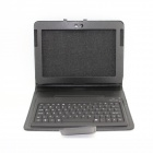 Glyby140218ZL-1 Wireless Bluetooth V2.1 Keyboard PU Leather Case Stand for Samsung Galaxy Note N8000