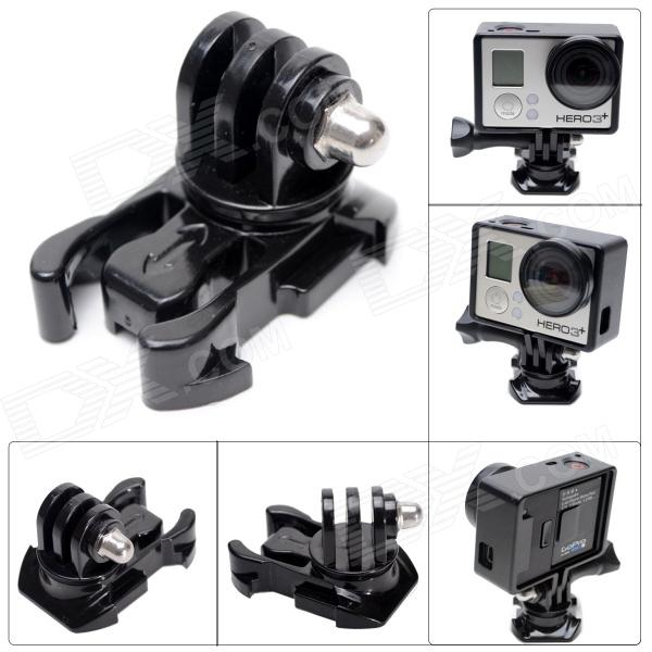 Fat Cat M-RP Universal 360 Degree Rotary Fast Assembling Mount Buckle for Gopro Hero 4/3+/3/2/1/SJ4000 цена и фото