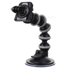 MMonopod Suction Cup Mount + GoPro Adapter for Camera - Black + Gray