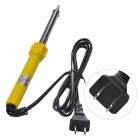 CR-60W Electric Soldering Iron 6mm Iron Bit - Black + Yellow (220~240V)