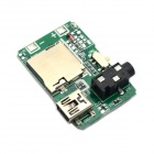 Jtron 20050299 MP3 Decoder Board w/ TF / USB - Green