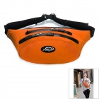 LKLR SPO-6603 Outdoor Multifunction Water Resistant Nylon Waist Bag - Orange