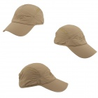 OUTFLY A13004 Outdoor Sunproof Polyester Hat / Cap for Men - Khaki