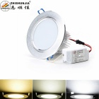 12W 1080lm 3000~6000K 3-Mode 24-LED Warm White / White Ceiling Light (90~265V)