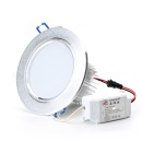 12W 1080lm 3000~6000K 3-Mode 24-LED Warm White / White Ceiling Light (85~265V)
