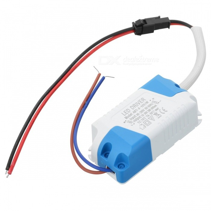 LHF6D 6~10 x 1W LED Power Supply Driver - White (85~265V)