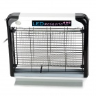 KFD LED-7003 Electric 6-LED Fluorescent Light Mosquito Killer Trap - Black + Silver